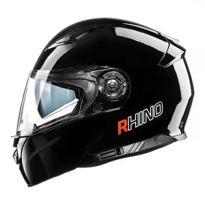 RHINO KASK HIGHWAY BLACK GLOSS L + PINLOCK