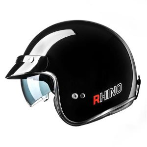 RHINO KASK JET CITY BLACK GLOSS