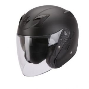 SCORPION KASK EXO-220 BLACK MAT XS