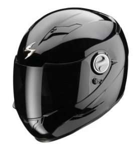 SCORPION KASK EXO-500 AIR BLACK GLOSS