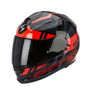 SCORPION KASK EXO-510 AIR STAGE BLACK-RED
