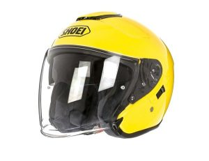 SHOEI J-CRUISE BLACK yellow
